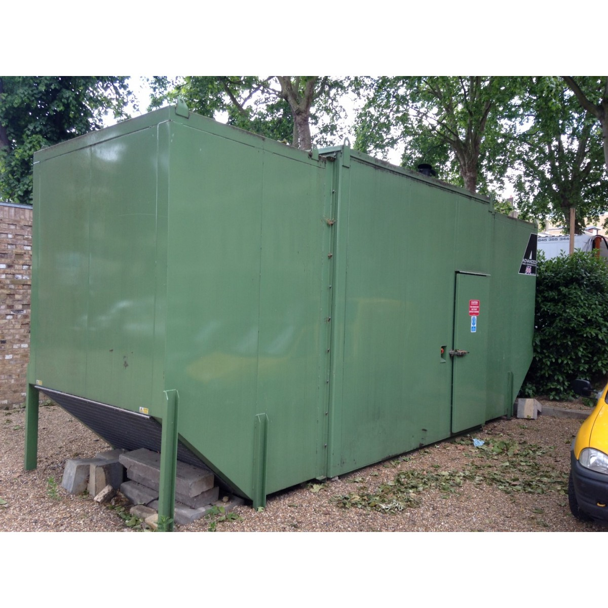 Drop Over Canopy To Suit Generator Up 300kva Incredible Noise Level 60Db At 1