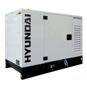 Hyundai DHY9KSEm Diesel Generator Single Phase 1500rpm