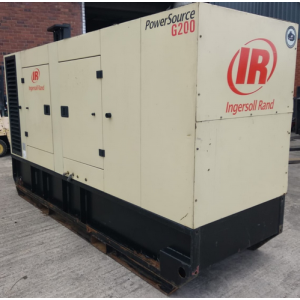 Ingersoll Rand - 200 Kva John Deere Leroy Somer Acoustic - YOM:2008 with 9598 hours from new
