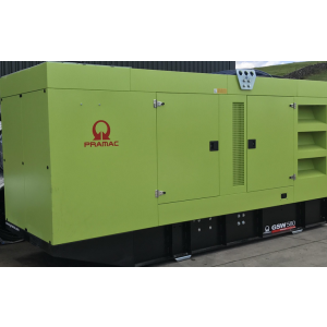 580Kva (Standby) 3 Phase Pramac with Doosan Engine Generator 2017 with 600 Hours