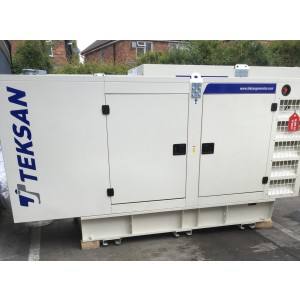 Brand New 116 Kva Standby 105 Kva Prime  Rated Doosan Engine Silent Diesel 3 Phase Generator