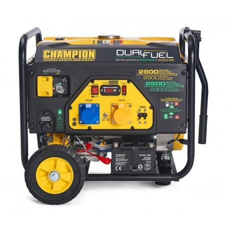 3000Watt CHAMPION Dual Fuel Generator 120v / 240v -CPG3500E2-DF