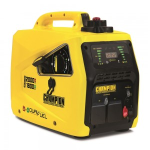 2000Watt DUAL Fuel 230v CHAMPION Suitcase Inverter Petrol Generator -82001I-E-DF