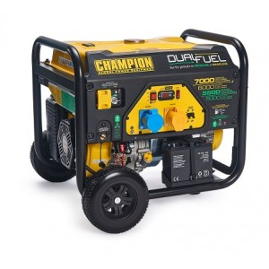 7000watt CHAMPION 110v / 240v Dual Fuel Generator -CPG7500E2-DF With Electric Start