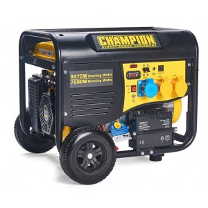 8000 Watt 230v / 110v Champion Generator C/W Remote Start -CPG9000E2