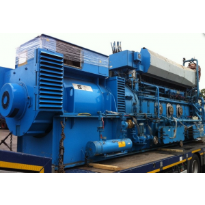 1875 KVA Ulstein Bergin Leroy Somer Used Gas Powered Generator-  Hours Run:53000 -Year of Commission:  1995