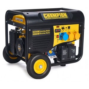 5500Watt 230v / 110v CHAMPION Petrol Generator With Remote Start -CPG6500-E
