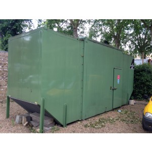 Drop Over Canopy to suit Generator up to 300kva. Incredible Noise Level 60Db at 1 Metre.