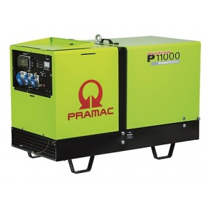 Pramac P11000 10.8Kva Single Phase Diesel Generator (Price Includes VAT and Delivery within UK)