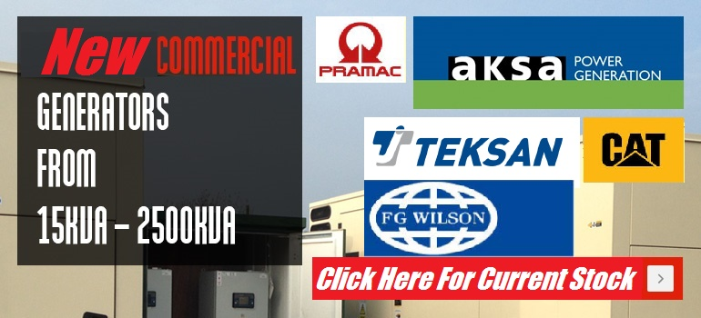 AKSA Commercial Generators